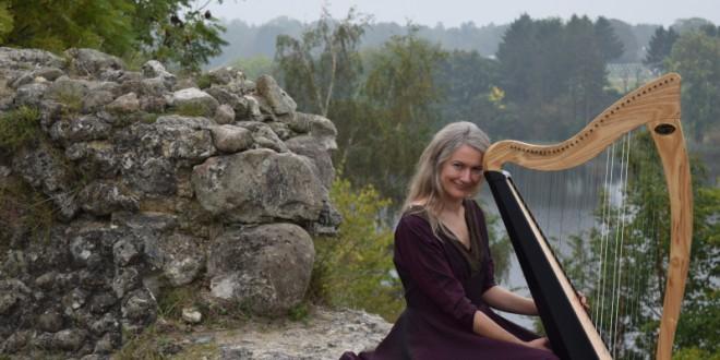 """Stille Hjerte"" Dybsindig Harpe koncert med historier. Søndag 19:30 – 21:00"